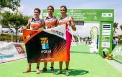Triplete de Tripuçol en el podio de Mar de Pulpi y con un equipo masculino más cerca de la Primera División