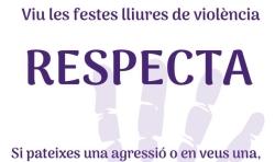 Gran acogida del Punto Violeta en las Fiestas de San Roque en Burjassot