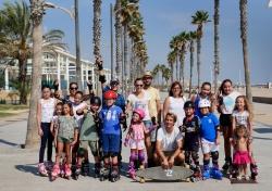 La Patacona celebra sus fiestas conmemorando la Semana Europea de la Movilidad