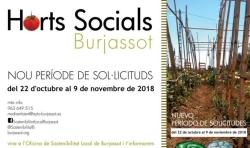 La Oficina de Sostenibilidad de Burjassot abre el período para solicitar las parcelas de los Huertos Sociales