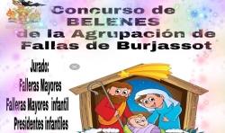 La Agrupación de Fallas de Burjassot inicia las celebraciones navideñas con petanca y un concurso de Belenes
