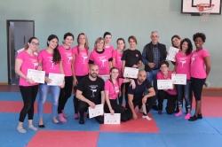 Éxito rotundo de la segunda edición del curso de defensa personal en Godella para mujeres