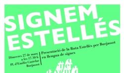 Burjassot presenta Signem Estellés, la Ruta de Estellés en lengua de signos
