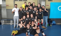 Fin de semana de éxitos para el balonmano de Burjassot que lleva al equipo femenino a segunda nacional