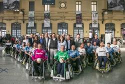 La Escuela de Fútbol en Silla del Valencia CF acerca el A-ball a los valencianos en la Estación del Norte