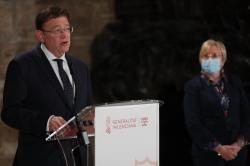 Anuncia el cierre perimetral de la Comunitat Valenciana durante una semana para proteger la salud de la ciudadanía frente al avance de la pandemia