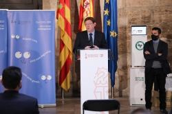 Ximo Puig anuncia el suministro de 8.000 purificadores para garantizar la adecuada ventilación de las aulas de los centros educativos de la Comunitat
