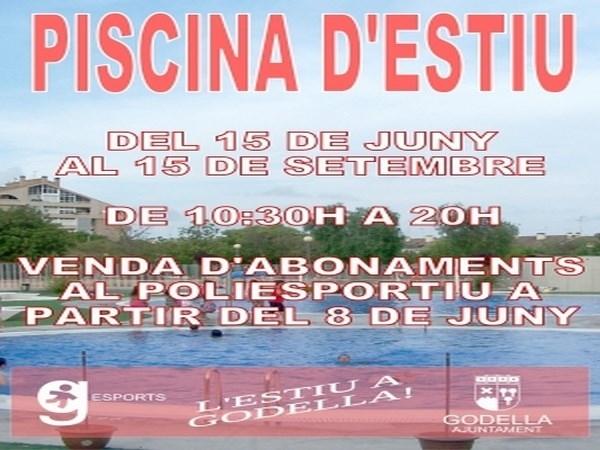 La piscina de verano de godella abrir sus puertas el 15 for Piscina de godella