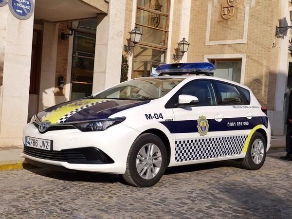 La Policía Local de Alboraya apuesta por los vehículos híbridos