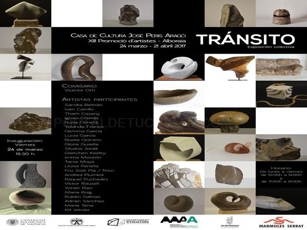 """El """"Tránsito"""" de la piedra y la madera, nueva exposición cultural en Alboraya"""