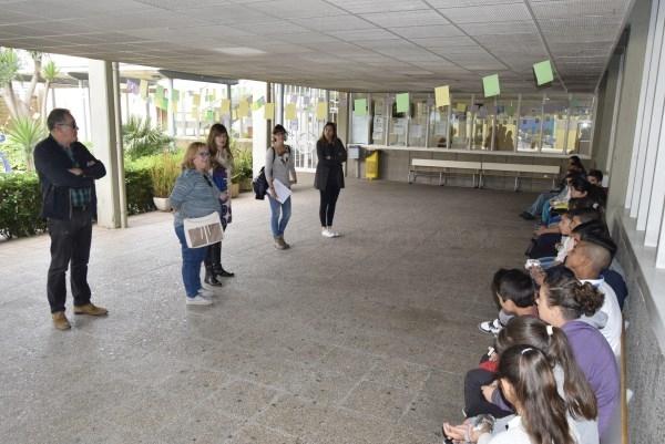 Alumnos del CEIP Fernando de los Ríos visitan el IES Federica Montseny dentro de la Semana contra el Absentismo Escolar