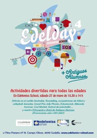 Las familias y el alumnado de Edelweiss School celebrarán el Edelday el 27 de mayo