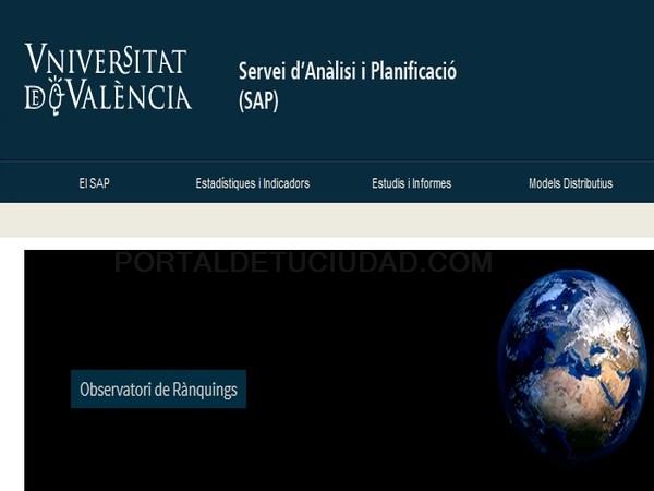 Dos rankings sitúan a la Universitat de València primera en Ciencias e Ingeniería y como la tercera más innovadora de España
