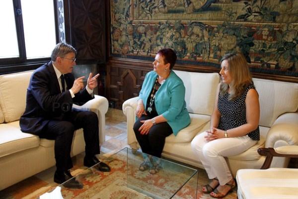 La alcaldesa Lola Sánchez plantea a Ximo Puig los grandes problemas urbanísticos de Puçol