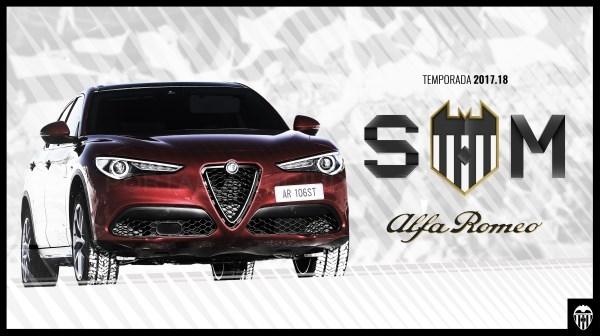 Alfa Romeo, nuevo patrocinador premium del Valencia CF
