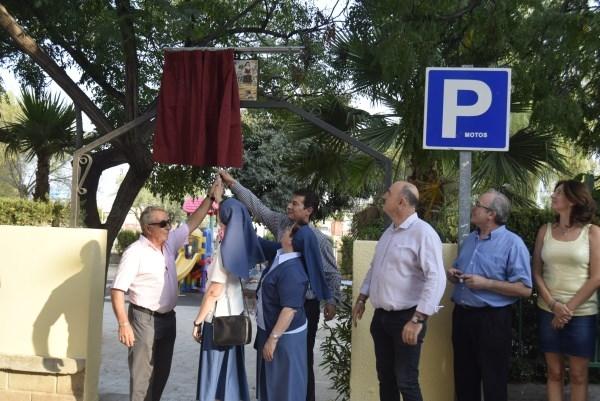 Juana María Condesa Lluch da nombre al parque de Cantereria