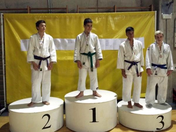 José Abril, bronce en el campeonato interprovincial infantil de judo