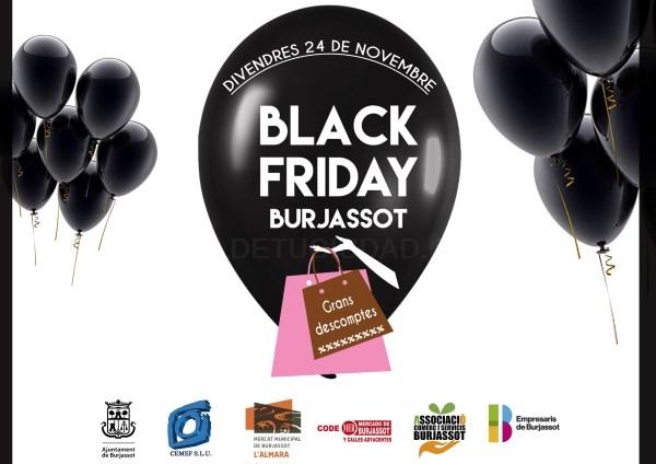 El Black Friday llega a Burjassot con grandes descuentos en sus comercios