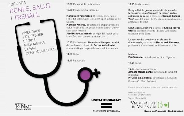 La Universitat de València dedica una jornada a la prevención de la salud desde una perspectiva de género