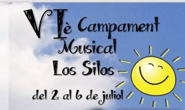 El VI Campamento Musical de la Agrupación Musical Los Silos ya tiene abiertas sus inscripciones