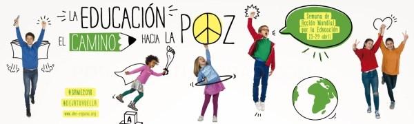 La Universitat de València se suma a la Semana de Acción Mundial por la Educación