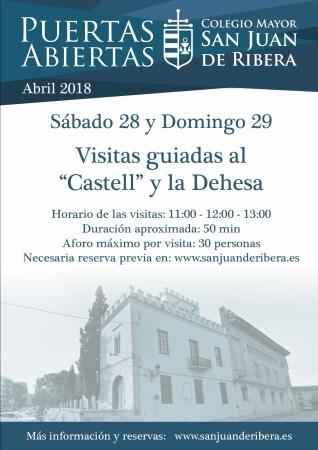Visitas guiadas en El Castillo y su Dehesa el último fin de semana de abril