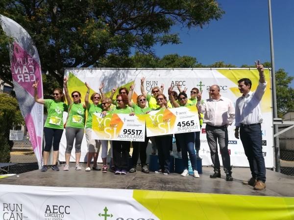 >Burjassot recauda más de 4.500 euros que se destinarán íntegramente a la lucha contra el cáncer