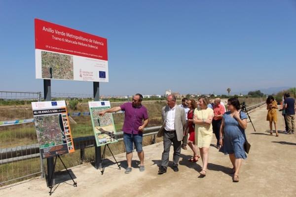 'El Anillo Verde permite una conexión sostenible entre municipios y el reconocimiento de sus valores culturales y medioambientales'