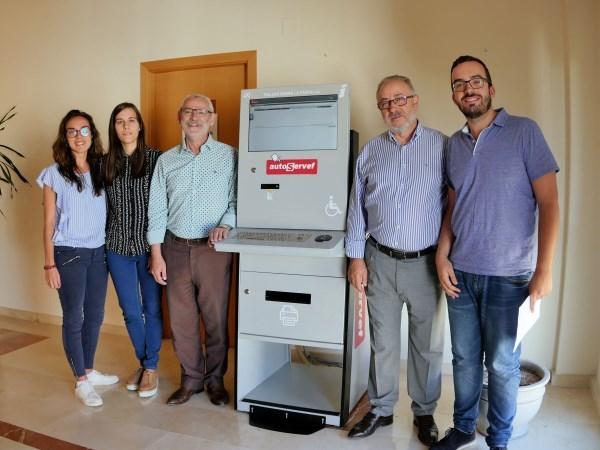 Alboraya cuenta con un cajero AutoServef en la agencia de empleo y desarrollo local del Ayuntamiento