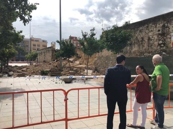 """Cs Burjassot muestra un informe técnico oficial que culpa del derrumbe de Los Silos a la """"crónica falta de conservación"""""""
