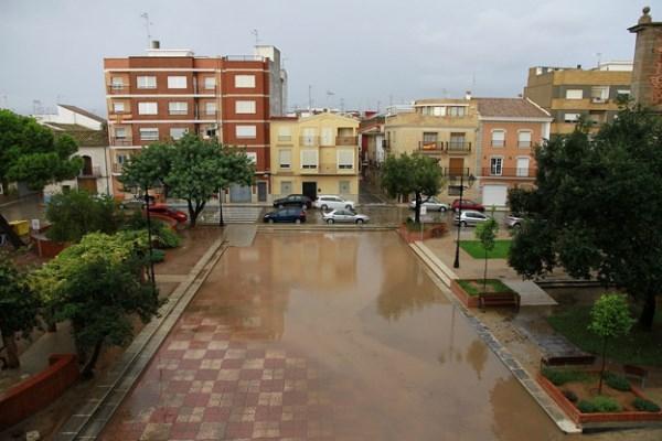 El 18 y el 19 de octubre, amplio despliegue de medidas de seguridad ante las fuertes lluvias en Puçol