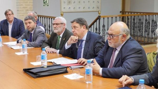 El Ministro de Agricultura visita Alboraya
