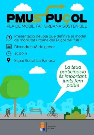 El viernes 18 de enero, primera reunión de vecinos para definir el modelo de población para el futuro de Puçol