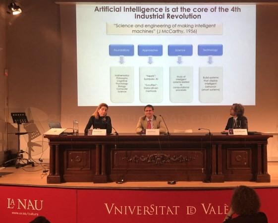 Jornada sobre cuestiones actuales y aspectos legales de la inteligencia artificial y el Big Data