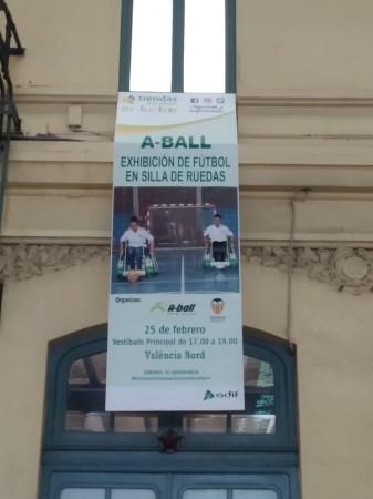 La Escuela de Fútbol en Silla A-Ball realizará una exhibición en la Estación del Norte