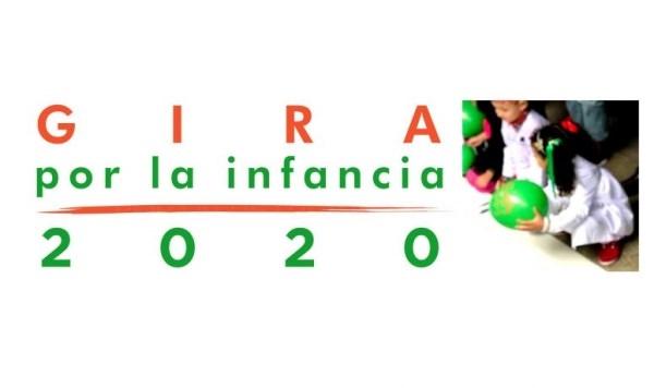 Arranca la Gira por la Infancia 2020, coincidiendo con el Día Internacional de los Derechos de la Infancia y la Adolescencia