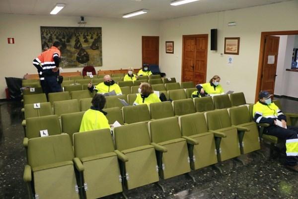 Nuevo servicio de limpieza para luchar contra el coronavirus en Puçol