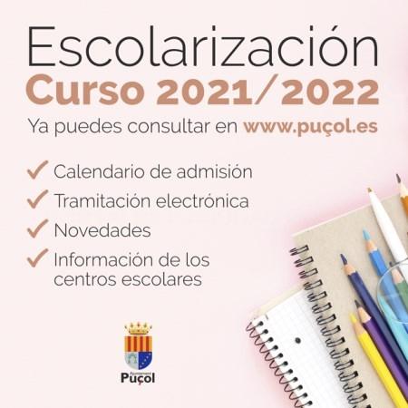 Todo lo que necesitas saber sobre la matrícula para el próximo curso escolar en Puçol