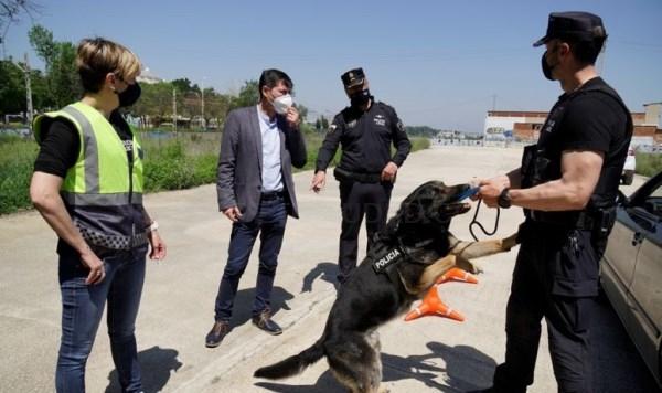 La Policía Local de Burjassot concluye una formación sobre controles policiales y puntos de verificación