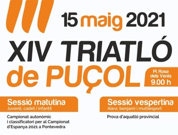 Vuelve el triatlón a la playa del Puçol: 900 participantes a lo largo del 15 de mayo