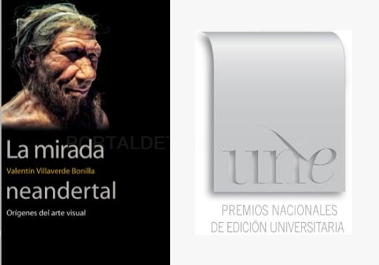 La mirada neandertal, publicada por la Universitat de València, mejor obra de divulgación científica en los Premios UNE