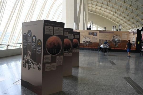 El Museu de les Ciències de Valencia amplía los contenidos de la exposición 'Marte. La conquista de un espacio