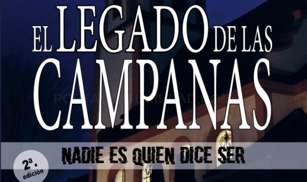 """Sale la segunda edición de la novela """"El legado de las campanas"""", de la burjasostense Amparo Arastell"""
