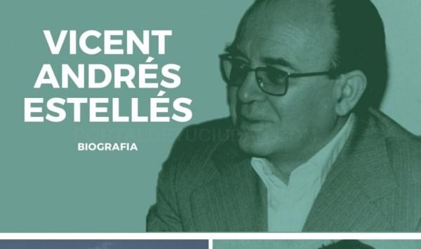 Una exposición sobre Vicent Andrés Estellés recorrerá los centros de Secundaria de Burjassot