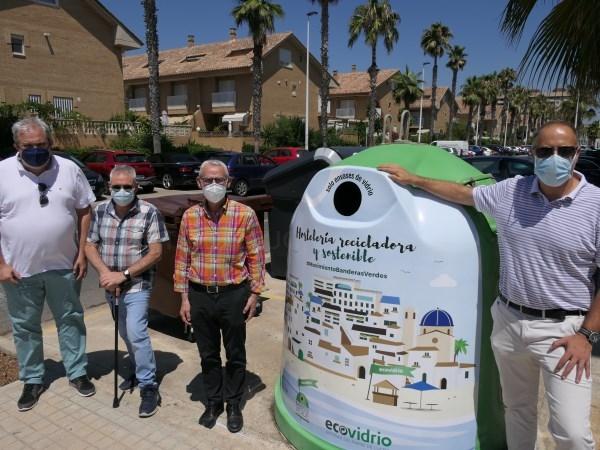 Alboraya competirá este verano por conseguir la Bandera Verde de Ecovidrio