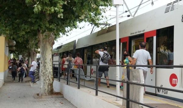 Restablecida la conexión ferroviaria entre las estaciones de El Empalme y Burjassot, dentro de las obras del soterrament de la Línea 1