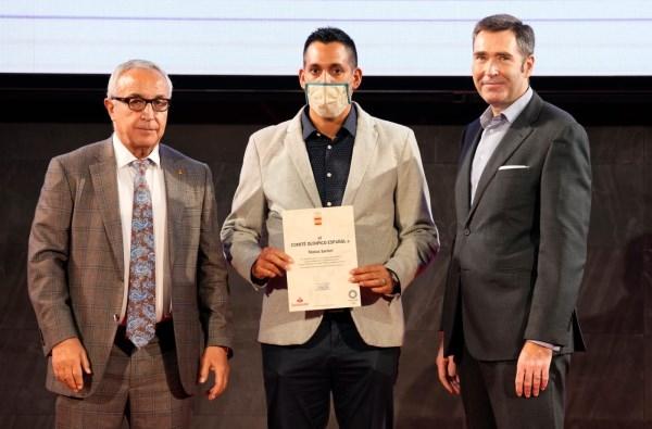 El periodista de Alboraya, Matías Sartori, reconocido por el Comité Olímpico Español