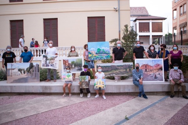 """Miguel Carlos Montesinos, ganador del XVIII Concurso de pintura rápida """"Godella i el seu entorn"""""""