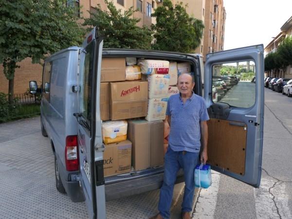 La ONG Tira Avant Alboraia Solidària dona cerca de 7.000 pañales a Ucrania