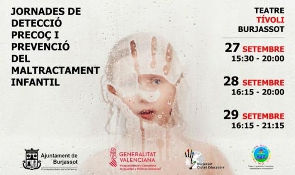 El Ayuntamiento de Burjassot promueve unas Jornadas para la detección precoz y la prevención del maltrato infantil